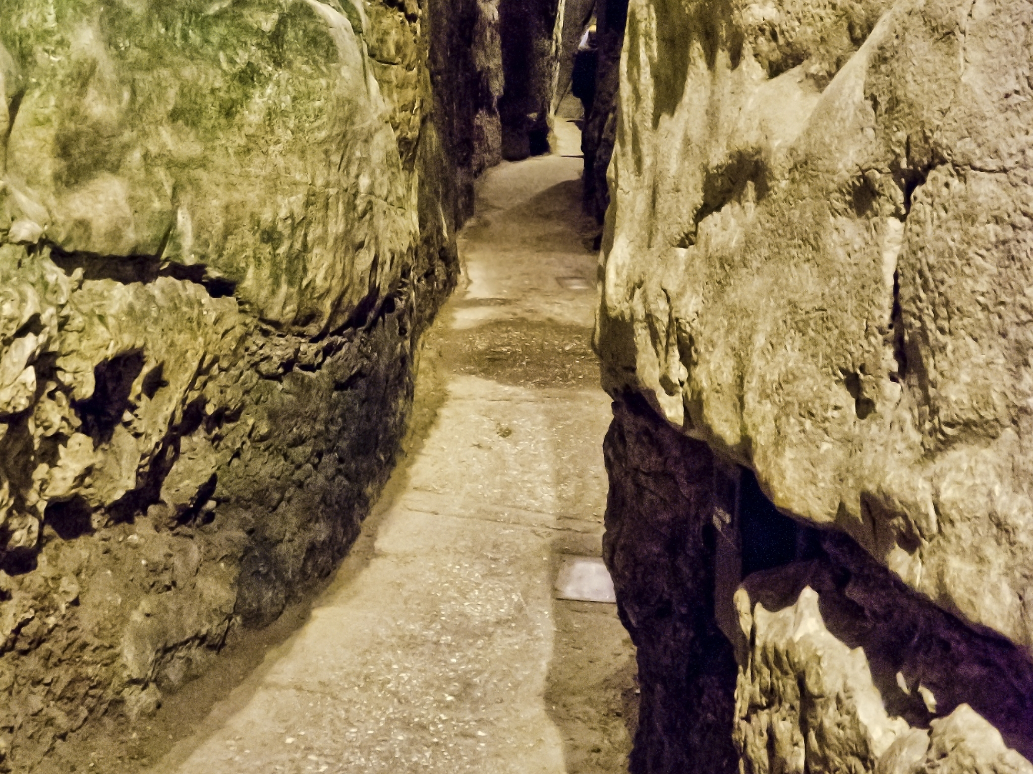 The Kotel Tunels