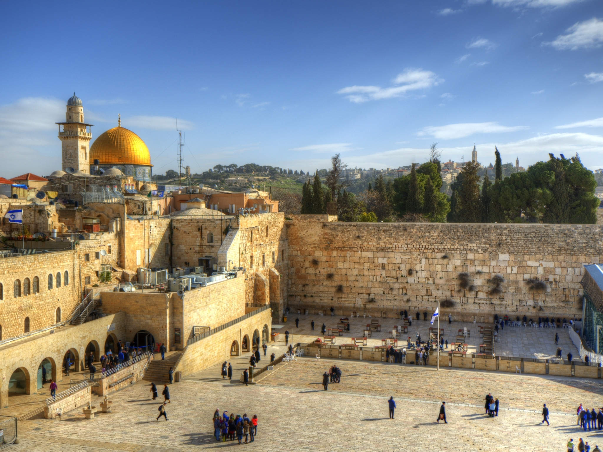The Wailing Wall - The Kotel