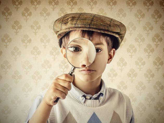 enfant detective