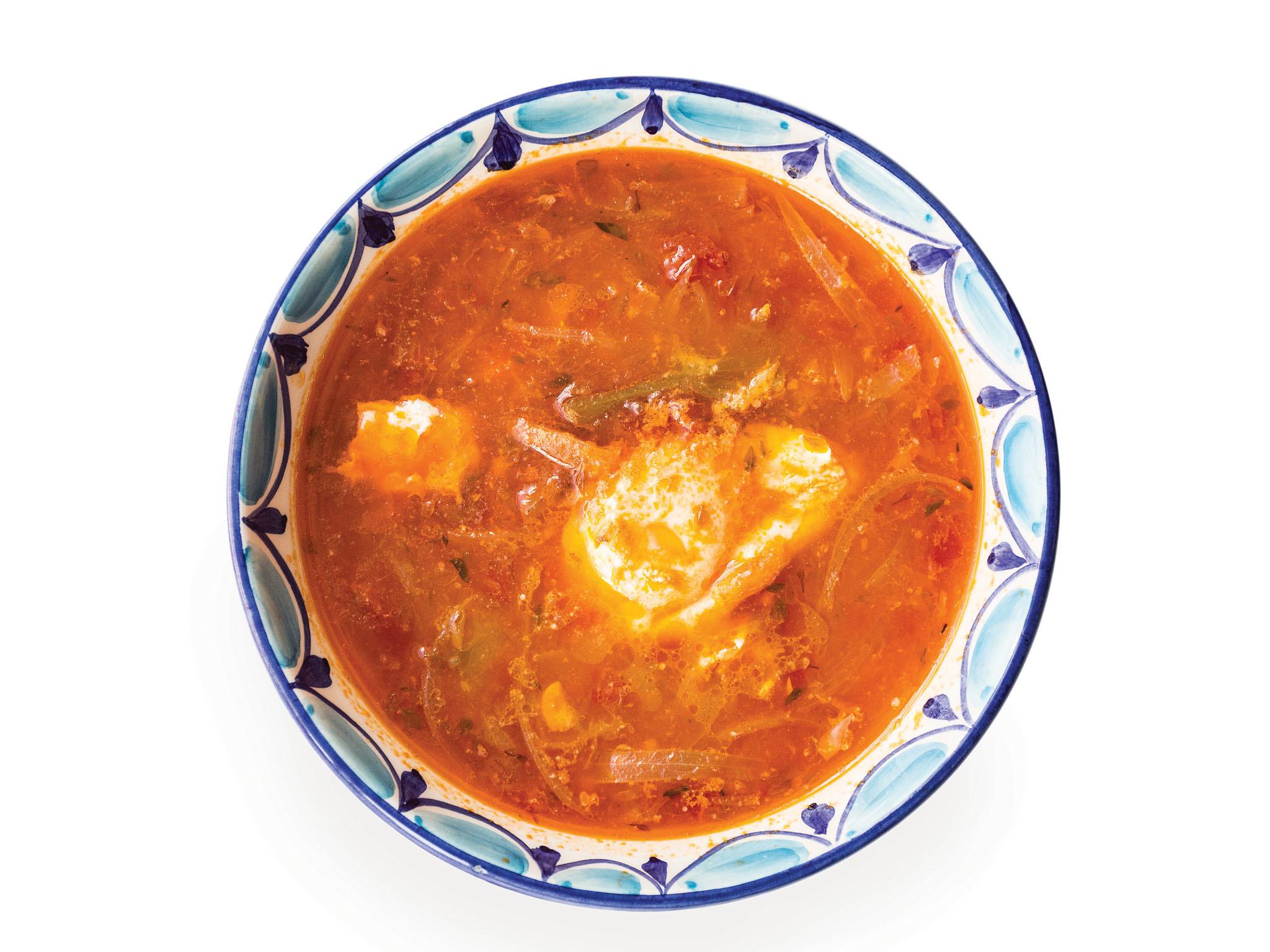 Sopa de tomate do Galito