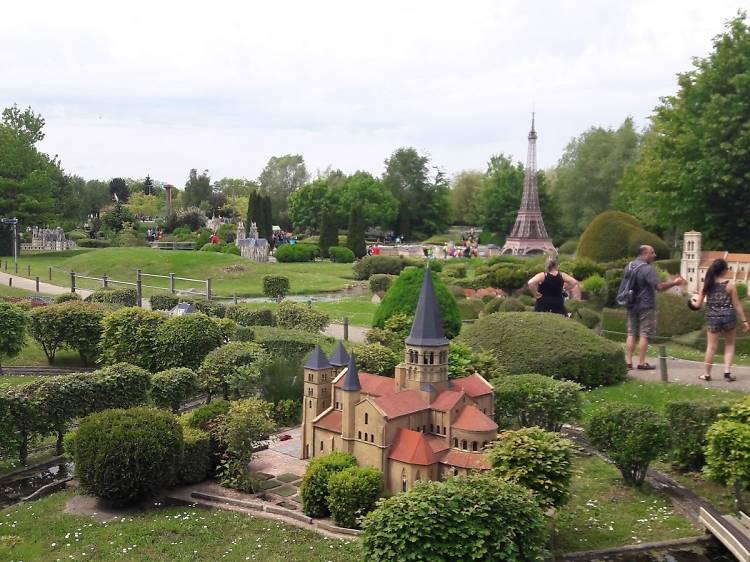Une sortie géante à France Miniature