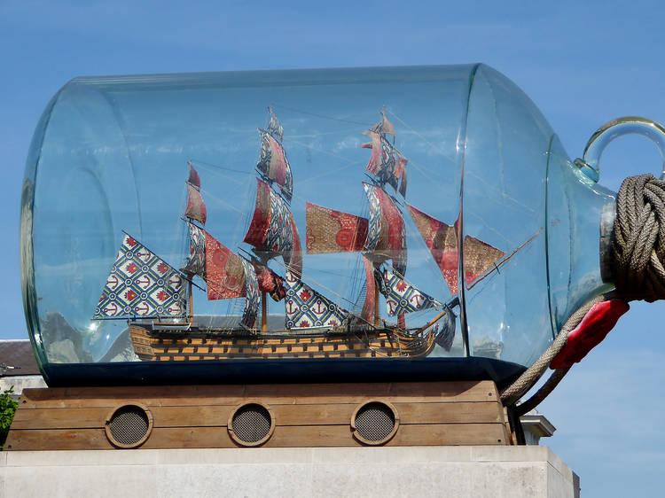 Yinka Shonibare, 'Nelson's Ship in a Bottle', 2010