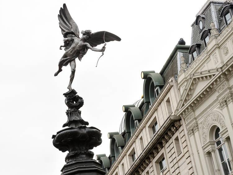 Alfred Gilbert, 'Shaftesbury Memorial Fountain' aka 'Eros', 1893