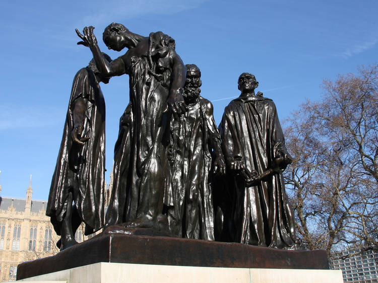 Auguste Rodin, 'The Burghers of Calais', 1915