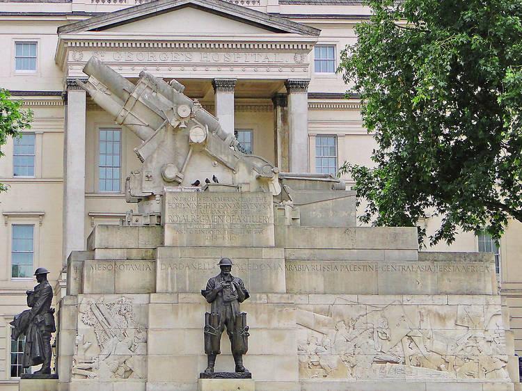 Charles Jagger, Royal Artillery Memorial, 1925
