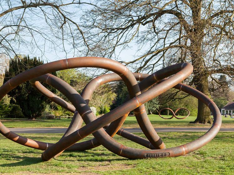 Conrad Shawcross, 'Three Perpetual Chords', 2015
