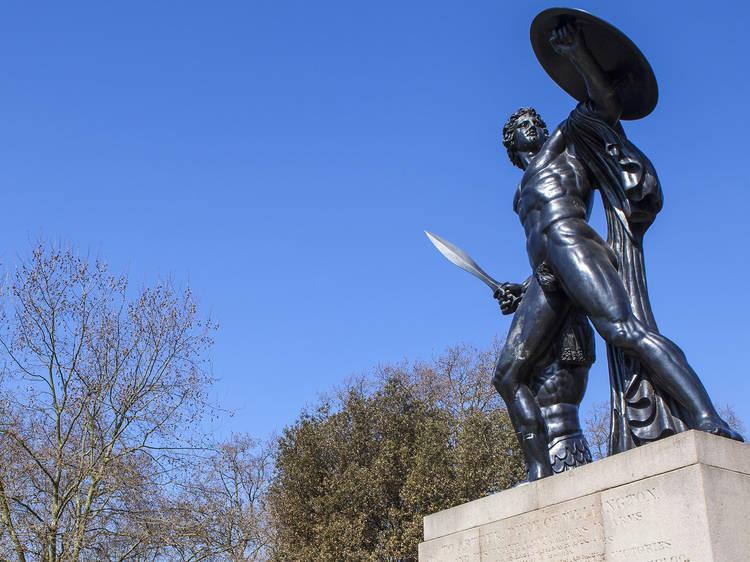 Richard Westmacott, Wellington Monument, 1822
