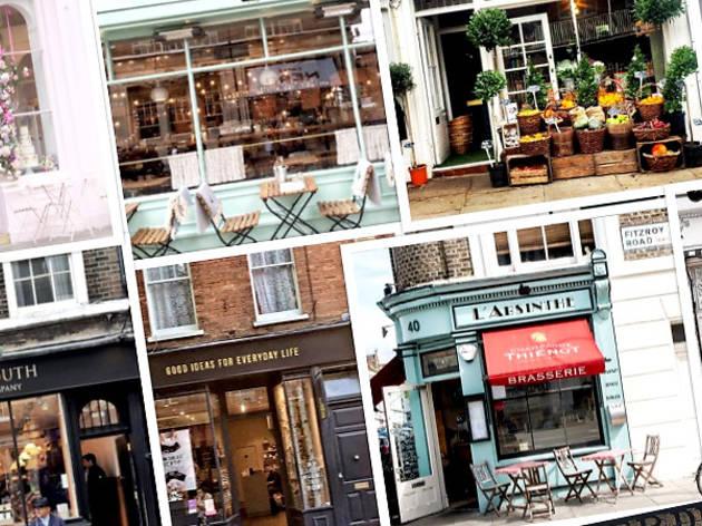 35 perfect little places that brighten up London