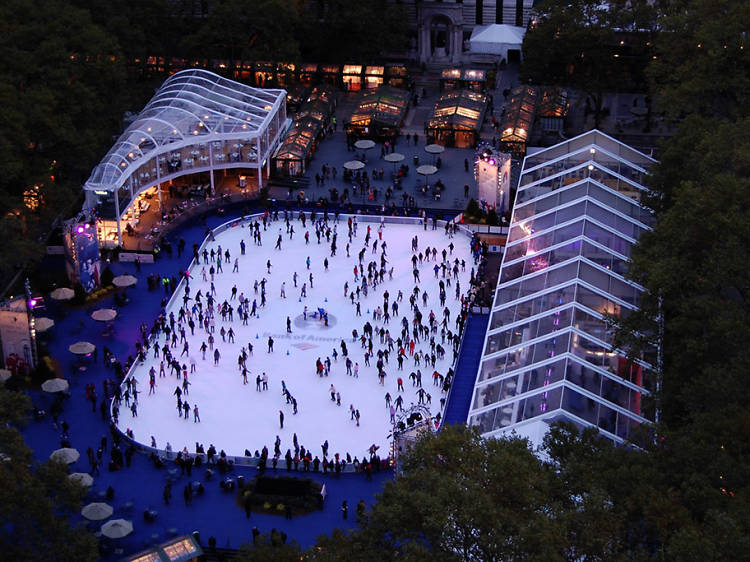 The best places for ice-skating lessons in NYC