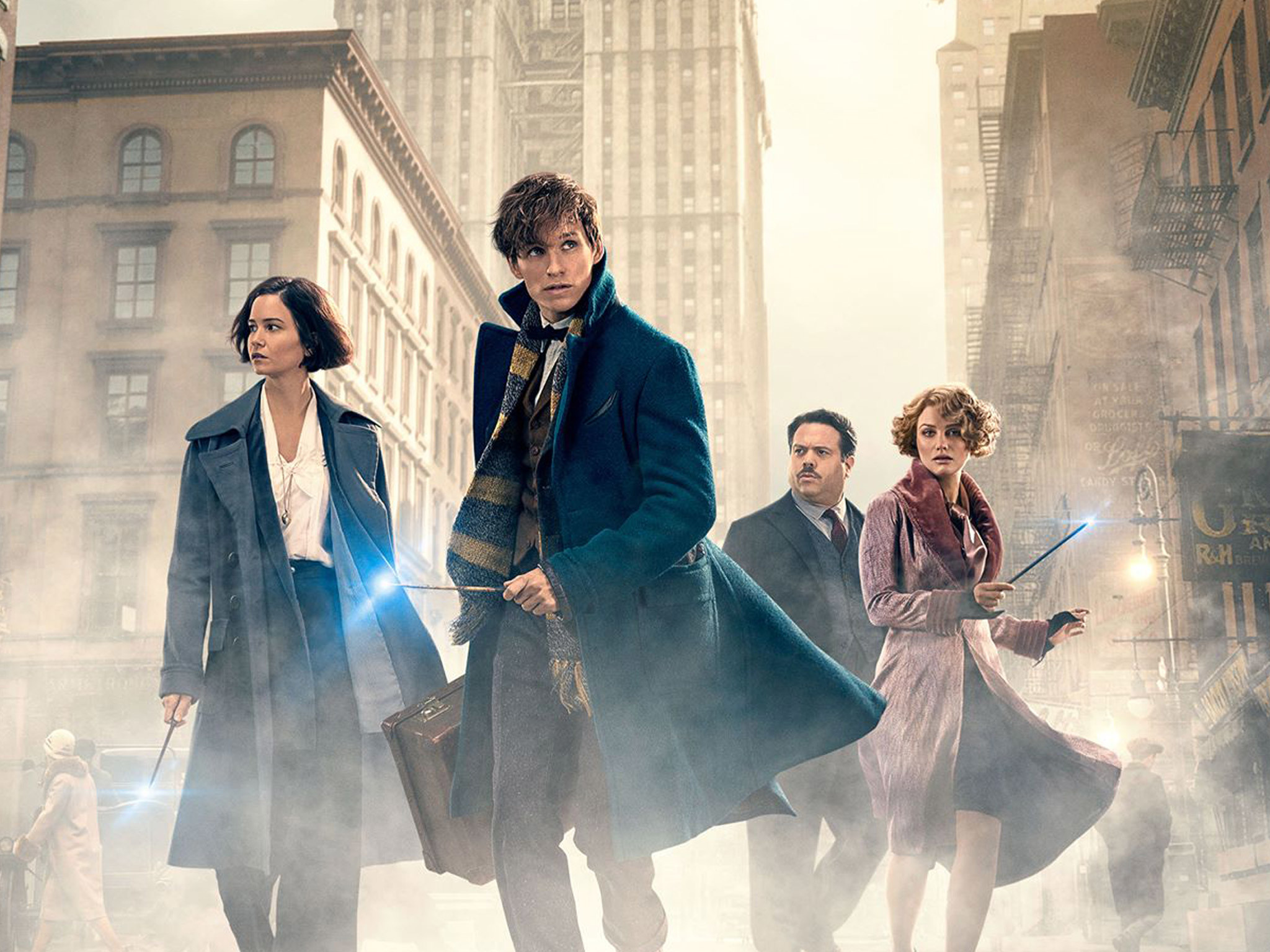 Fantastic Beasts and Where to Find Them poster art