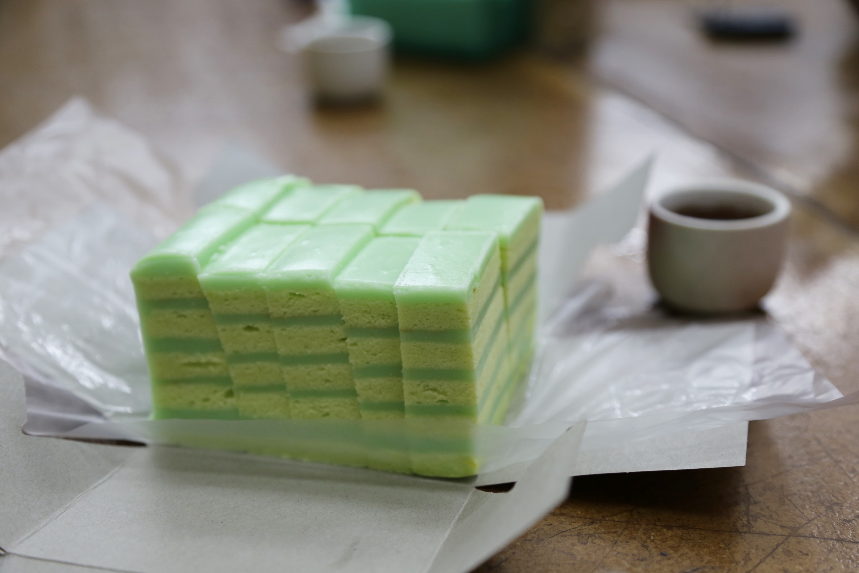 Cry Now Regent No Longer Taking Orders For Pandan Layer Cakes