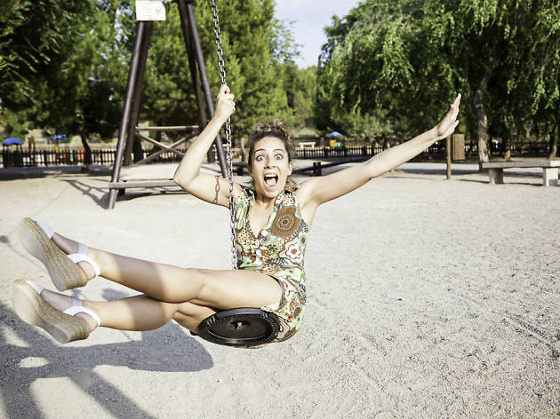 Tirolinas alucinantes en los parques de Barcelona