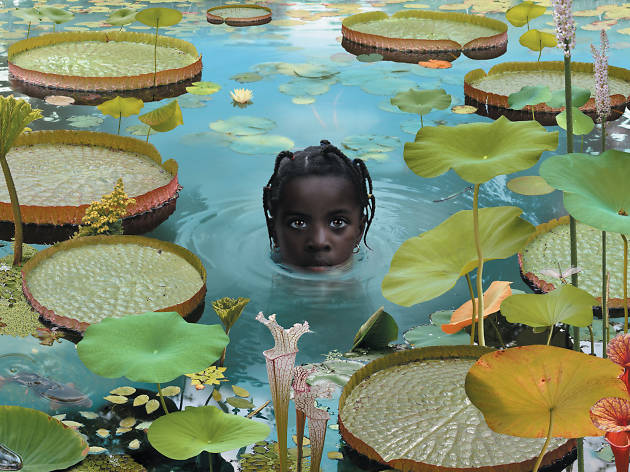 Ruud van Empel'in 'World' serisinden