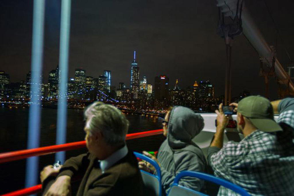 New York at Night Open Top Bus Tour