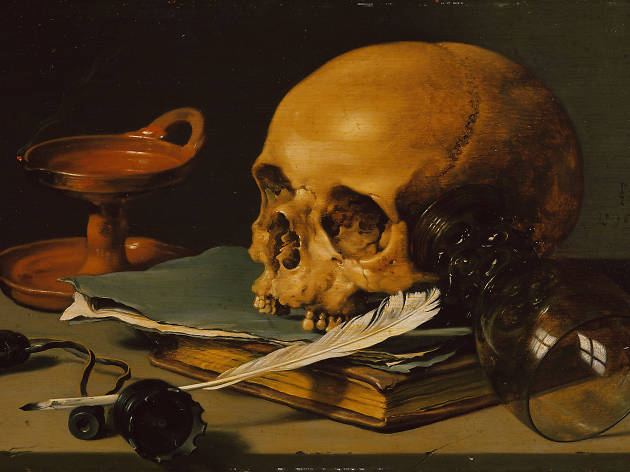 Still Life with Still Life with Skull and Writingkull and Writing. Pensar la muerte El Colegio Nacional
