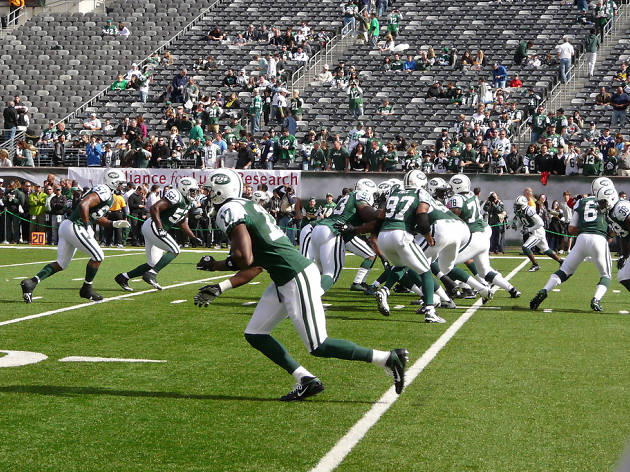 Cleveland Browns vs. New York Jets (away) - 10/30