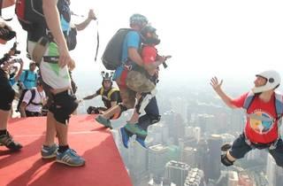 KL Tower Base Jump