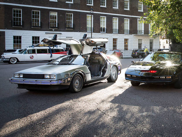 Did you spot the DeLorean on the streets of London?