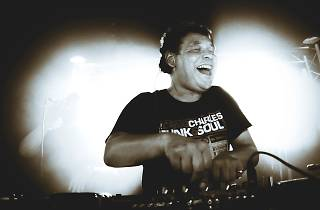 Craig Charles at the Garden Brewery