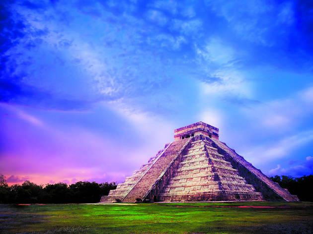 El colapso de las civilizaciones mayas