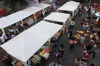 Bangkok Farmers' Market at W-District