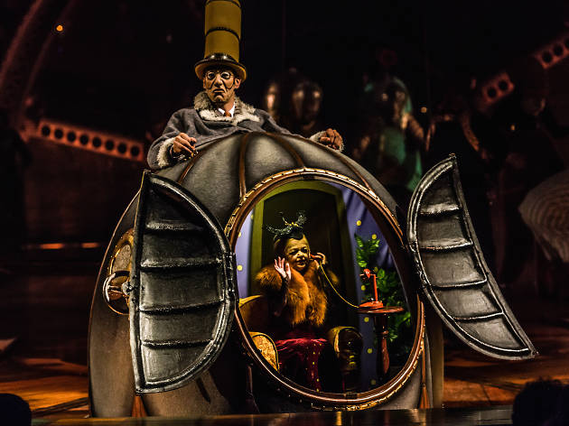 Theater review: Kurios is Cirque du Soleil's most astonishing spectacle in years