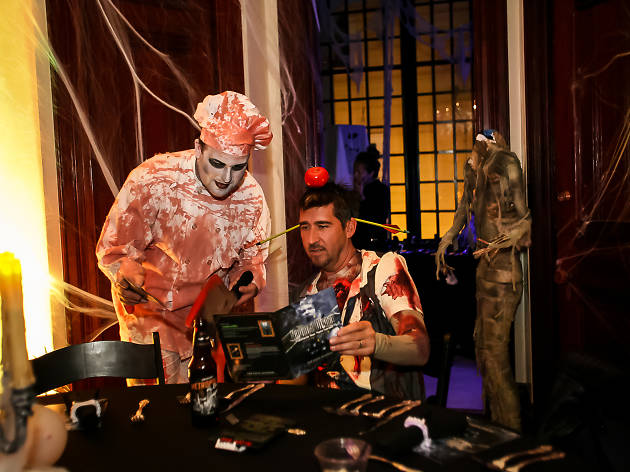 Haunted House Pop Up Dinner at Payne Mansion