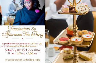Fascinators & Afternoon Tea at Sai