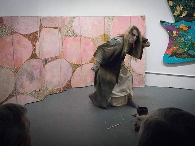 Dance Installation: Butoh Dance Show