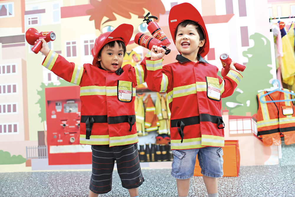Best indoor playgrounds for pretend play in Singapore