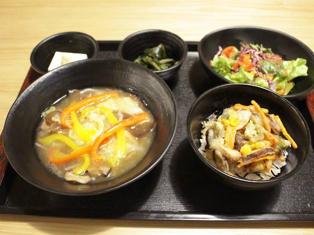 Set lunch at Kuku Ramen