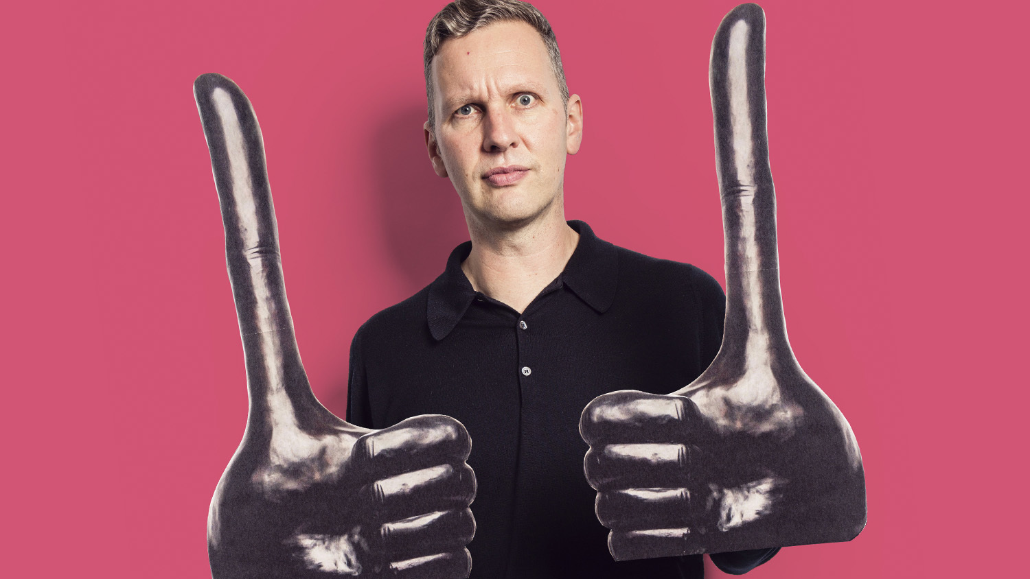 David Shrigley's big thumbs up