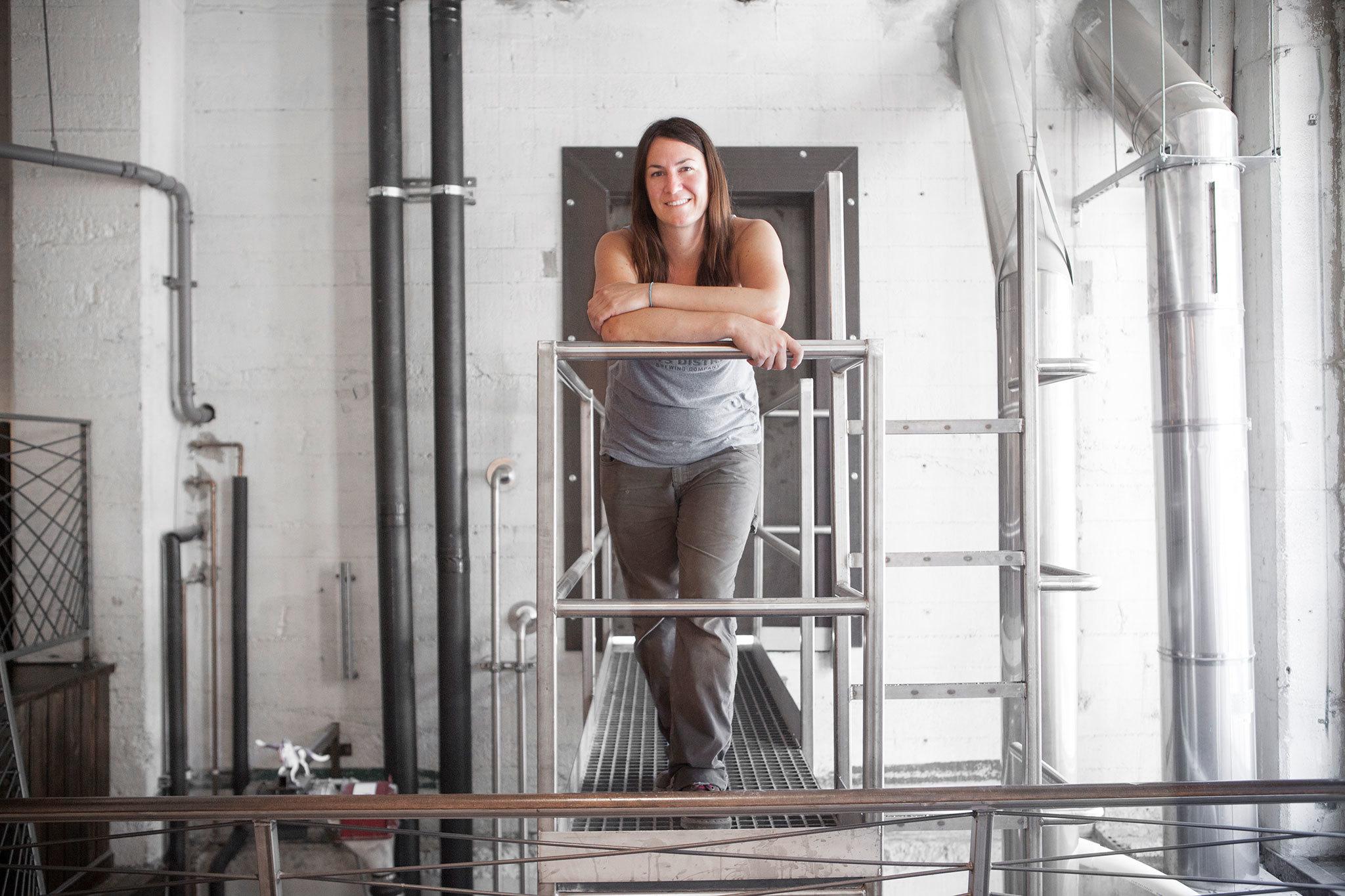 Devon Randall at Arts District Brewing