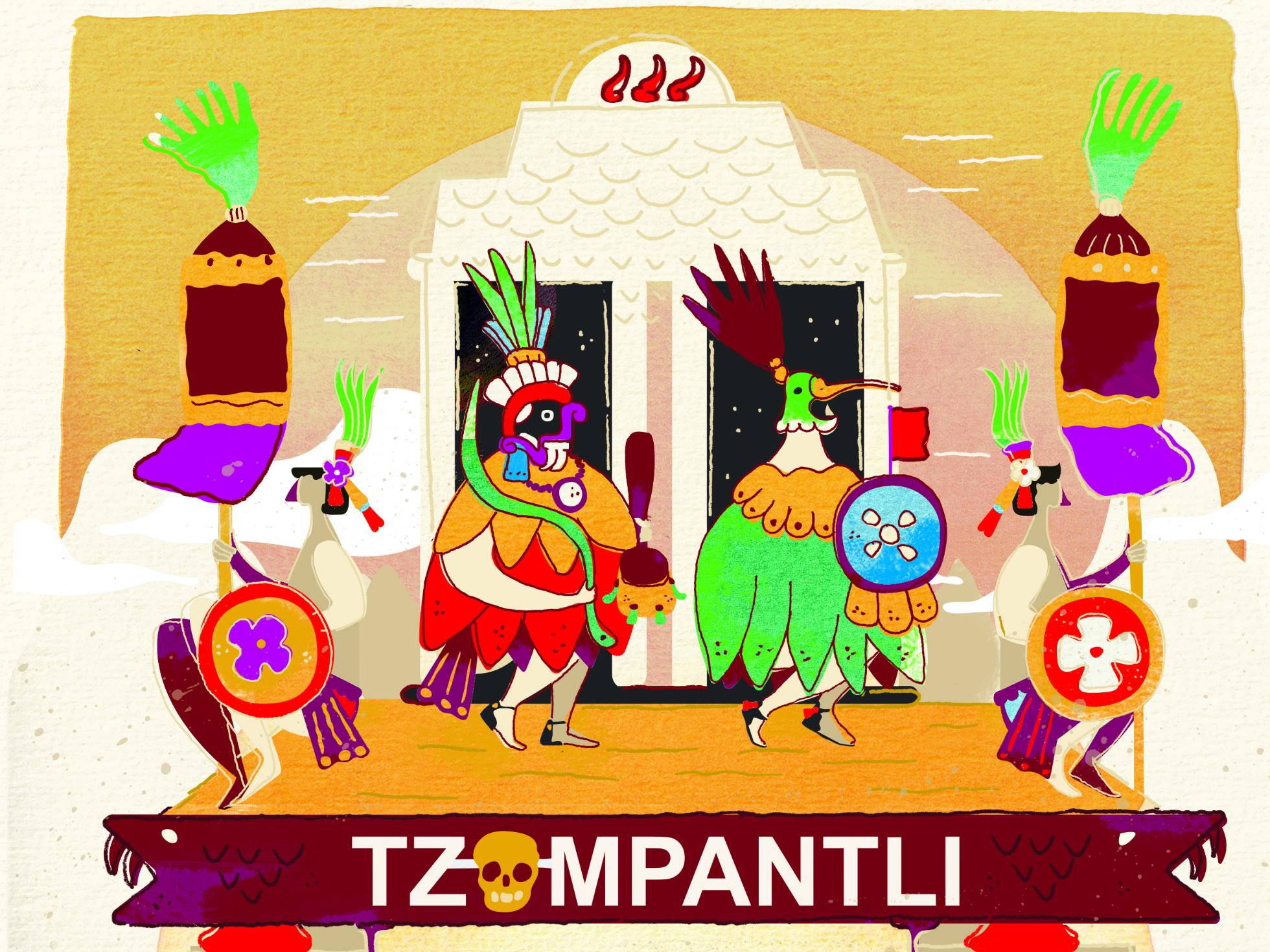 ¿Qué es el Tzompantli?