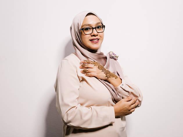 Henna artist, Fauzella Sahabdin