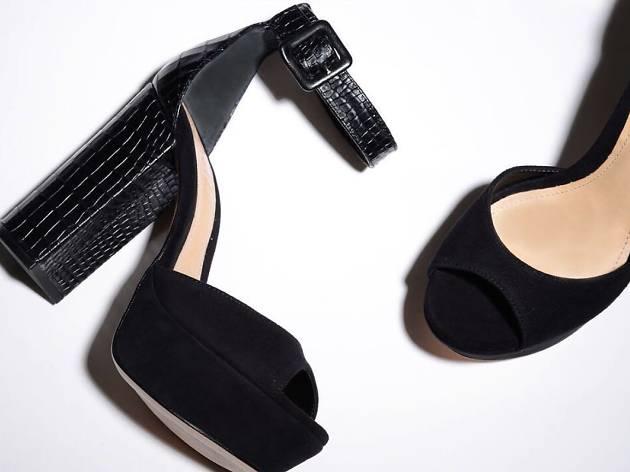 Schutz Avon Block Heel Sandal