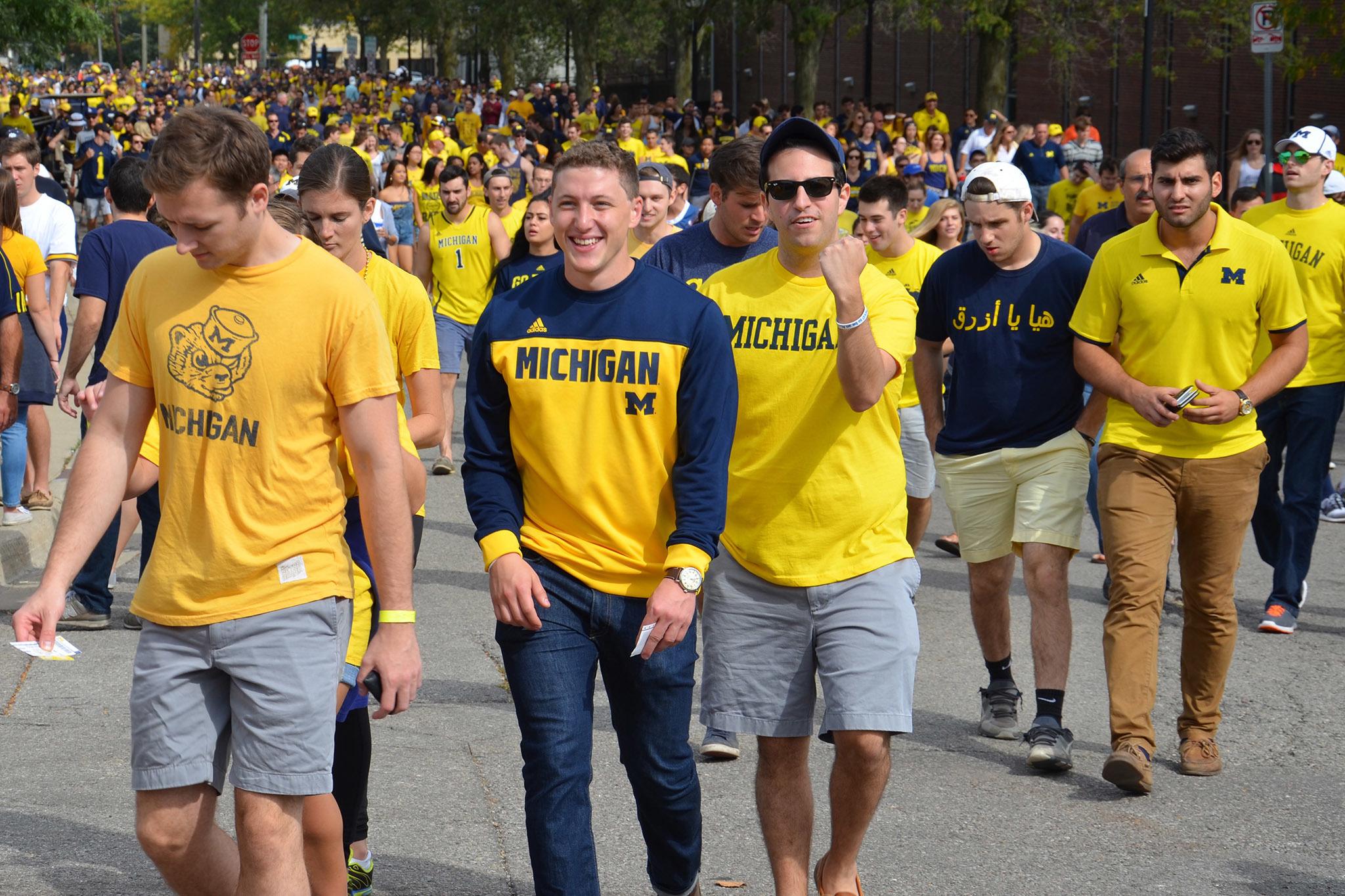 "University of Michigan, ""The Victors"""