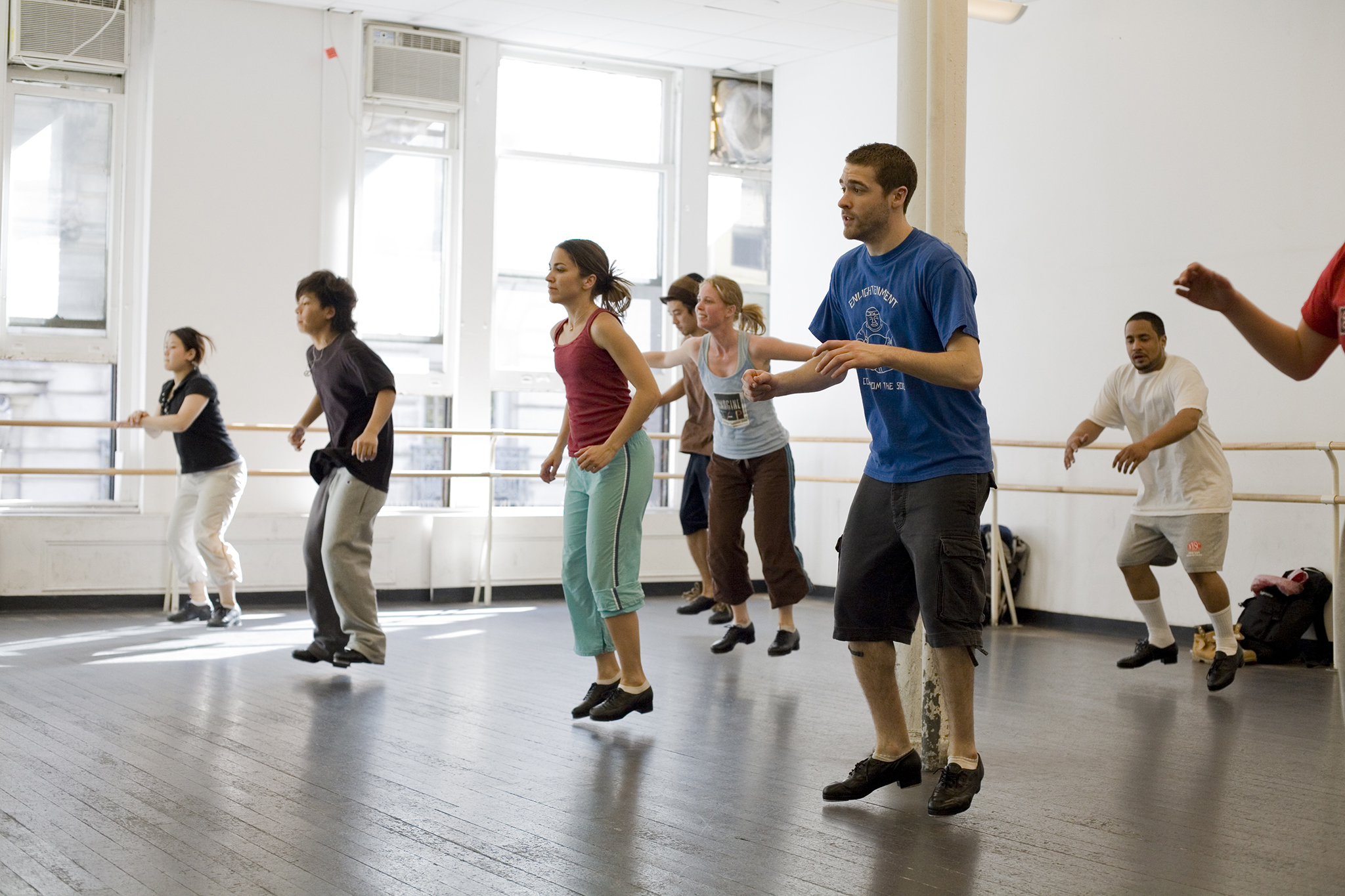 Best dance classes nyc has to offer in ballet tap jazz for Porte arts and dance studio