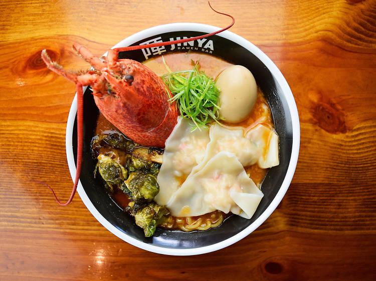 Lobster ramen at Robata JINYA