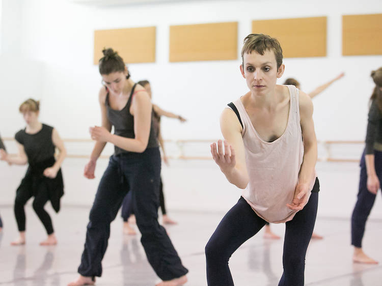 Intro to Modern Workshop at Mark Morris Dance Center