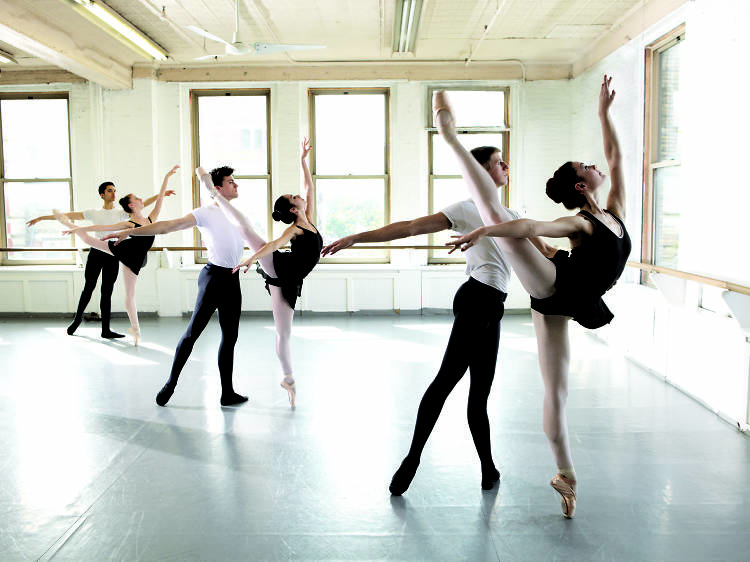 Beginner Ballet at Joffrey Ballet School