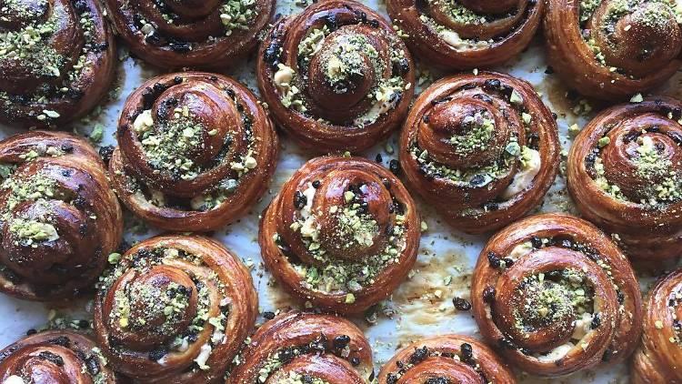Escargots pastry Tivoli Road Bakery