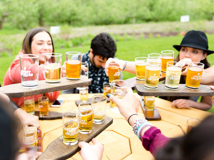 Sip your way through four weekend getaways to nearby orchards