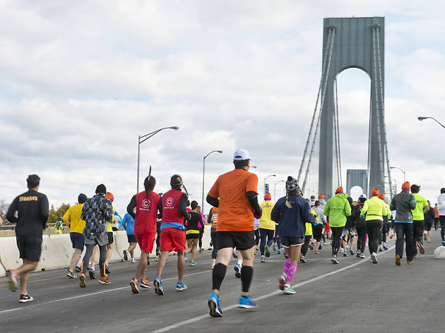 The NYC Marathon 2019 route