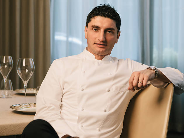 Michelin-Starred Guest Chef Andrea Aprea at Grissini