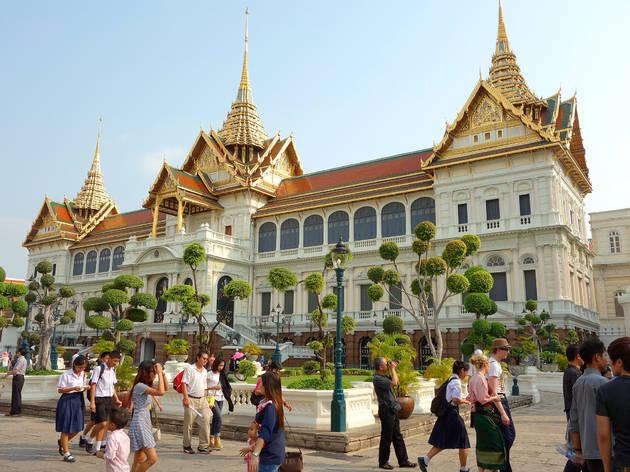 Grand Palace in Bangkok Thailand
