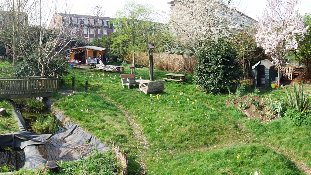 Old Tidemill Wildlife Garden
