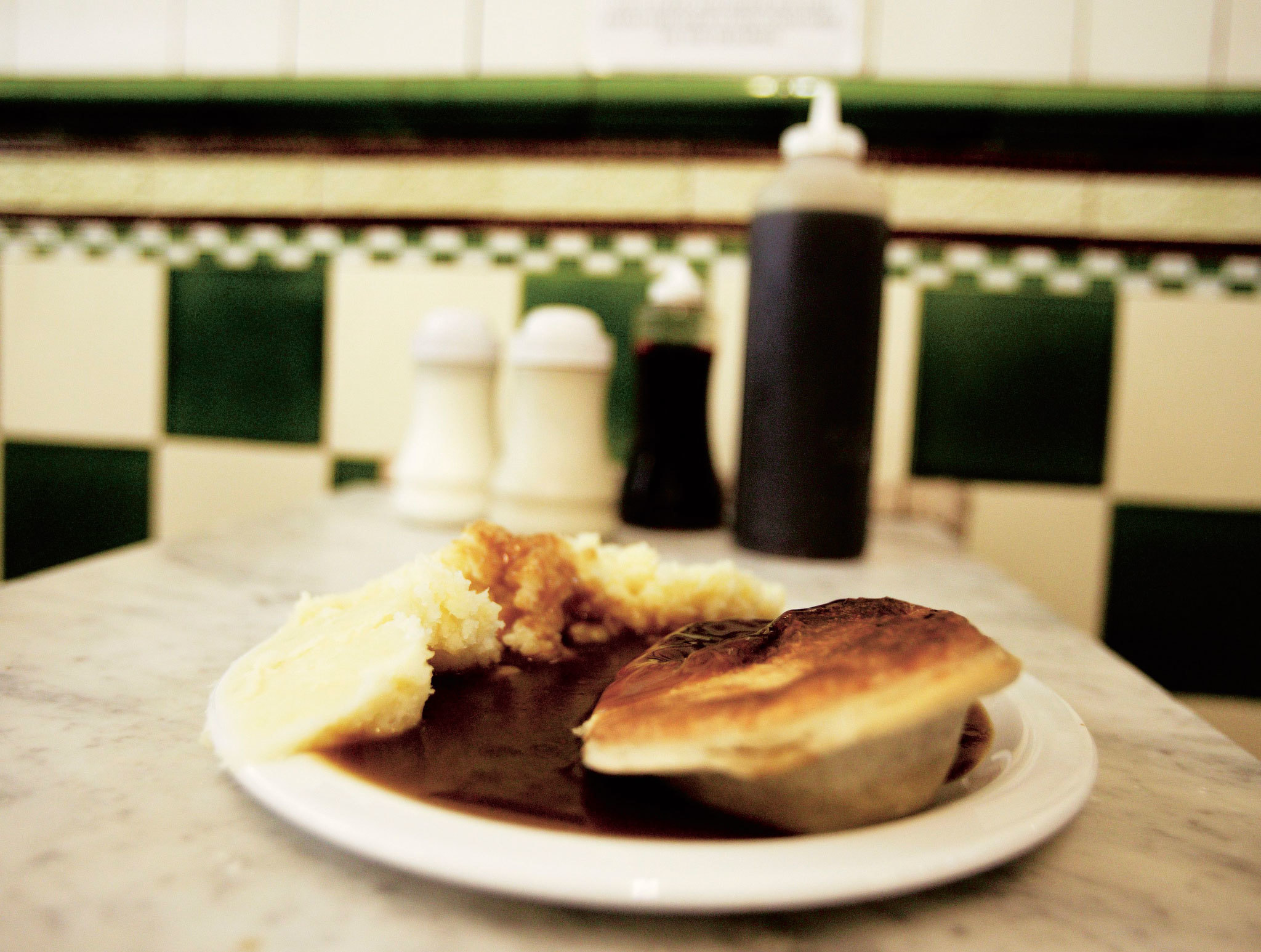 London's most historic dishes - M. Manze pie and mash