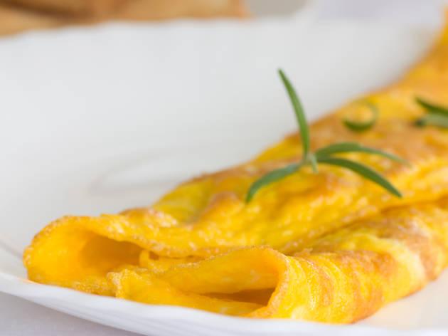 Tortilla francesa: El Arquibar