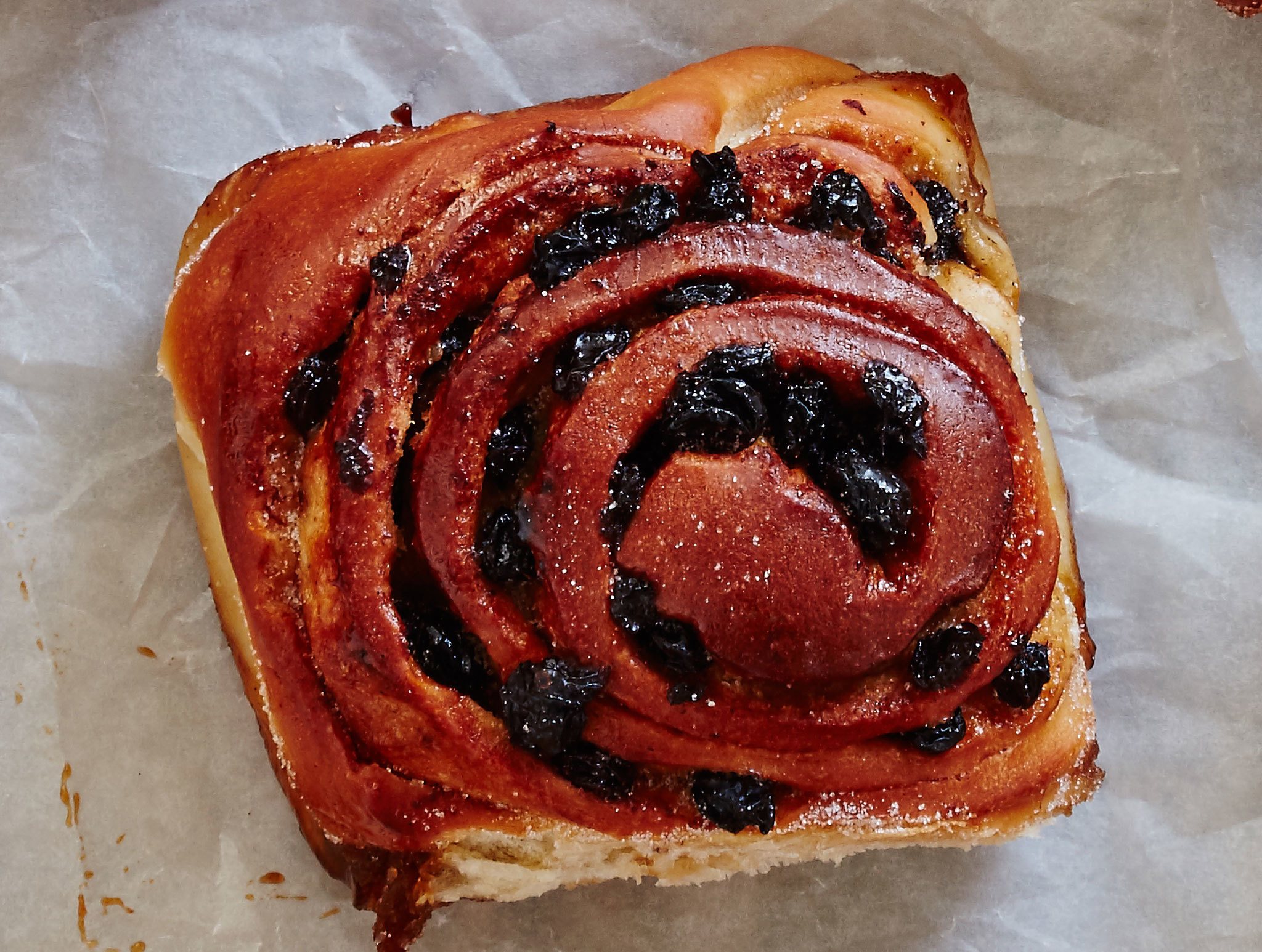 London's most historic dishes - the flour station chelsea bun